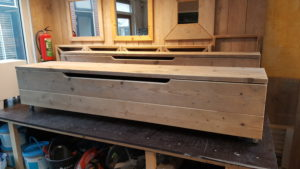 TV meubel gebruikt steigerhout
