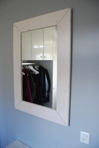 Spiegel steigerhout white wash