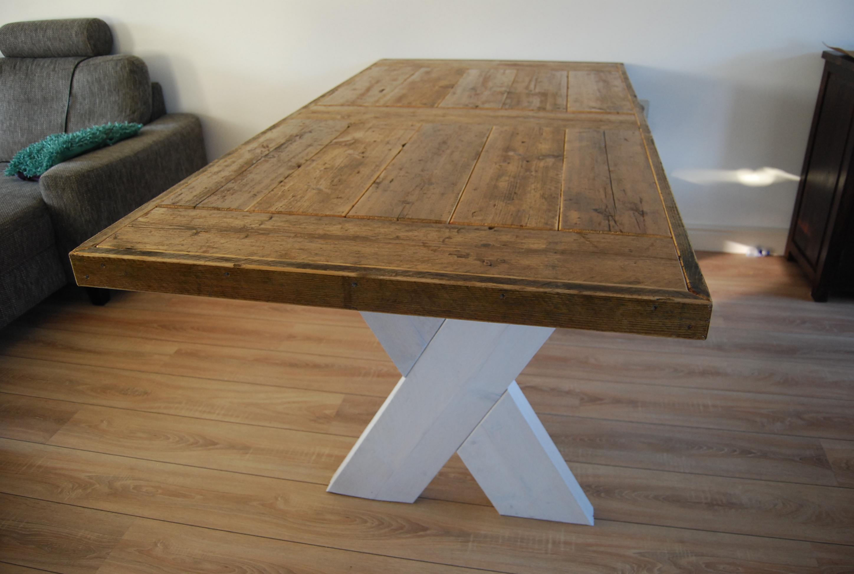 Tafels en tuintafels steigerhout alle maten en modellen for Stijgerhout tafel
