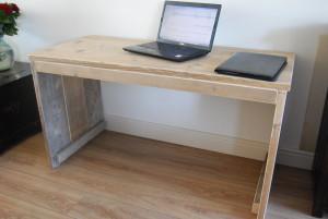 bureau gebruikt steigerhout