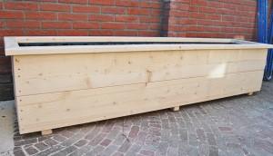 Plantenbak nieuw steigerhout