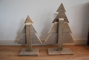 kerstboompje steigerhout