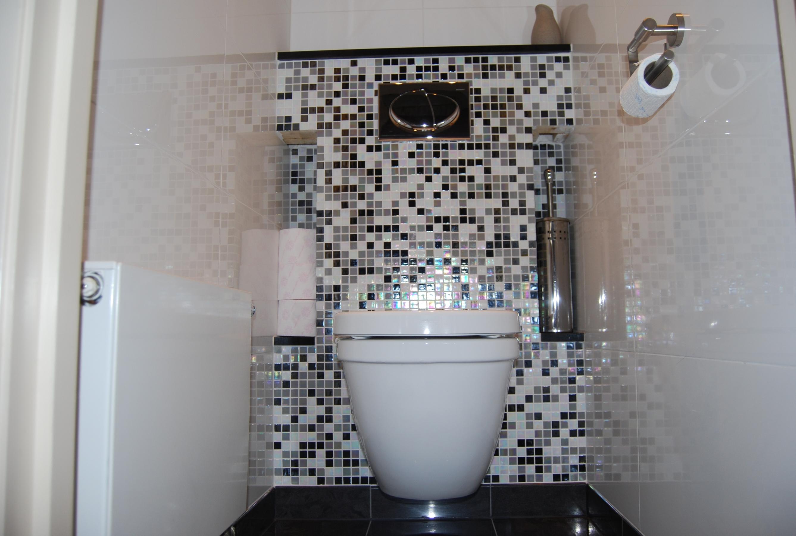 Badkamer toilet keuken verbouwen metsel en tegelbedr m lankreijer - Tegel model voor wc ...