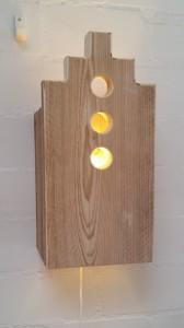 wandlamp steigerhout huis