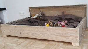 hondenbank gebruikt steigerhout
