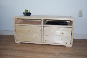 TV meubel nieuw steigerhout