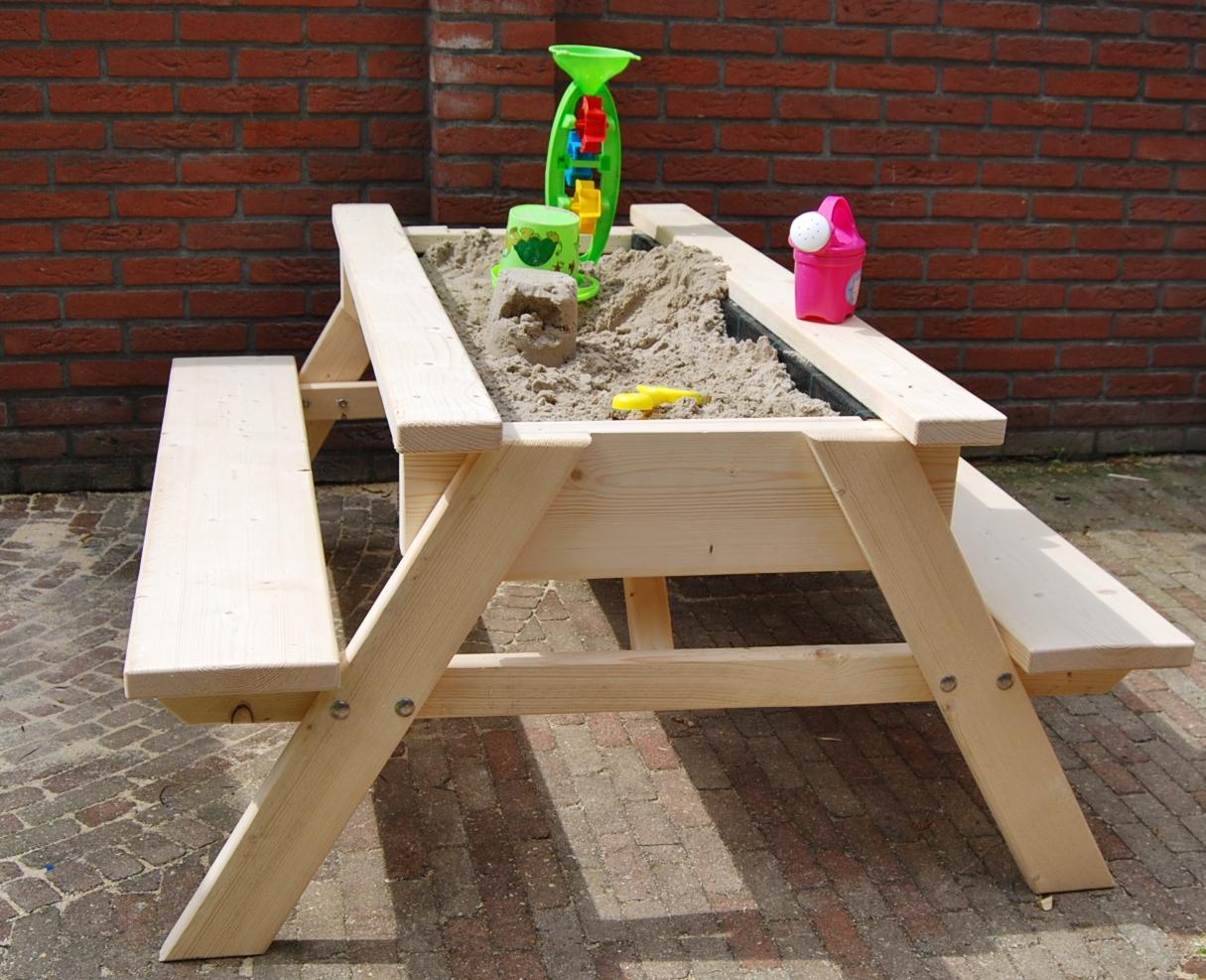 Zand Water Tafel : Zandbakken zand en water tafels en zandpicknicktafels