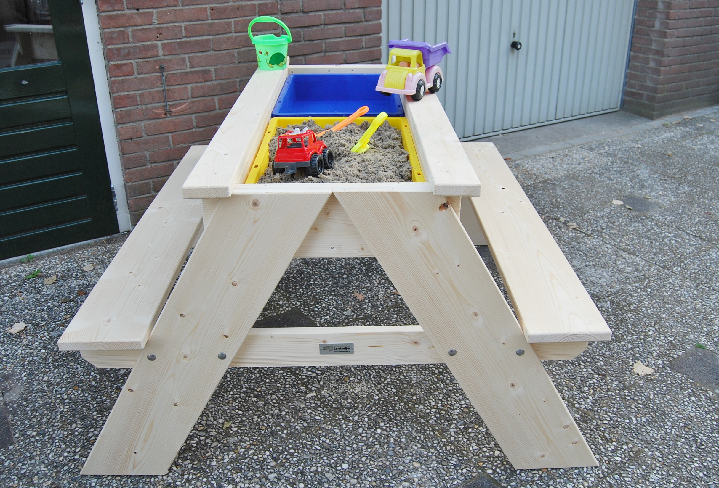 Zand Water Tafel : Picknicktafels met zand en watertafel bouw en