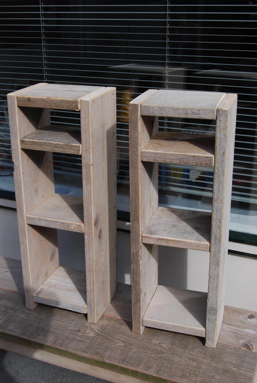 Boekenkasten Steigerhout Bouw En Onderhoudsbedrijf M