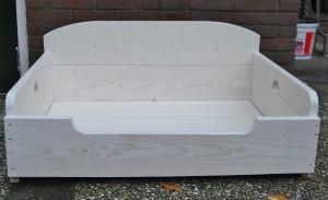 hondenbank hondenmand steigerhout white wash