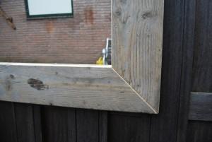 spiegel gebruikt en oud steigerhout
