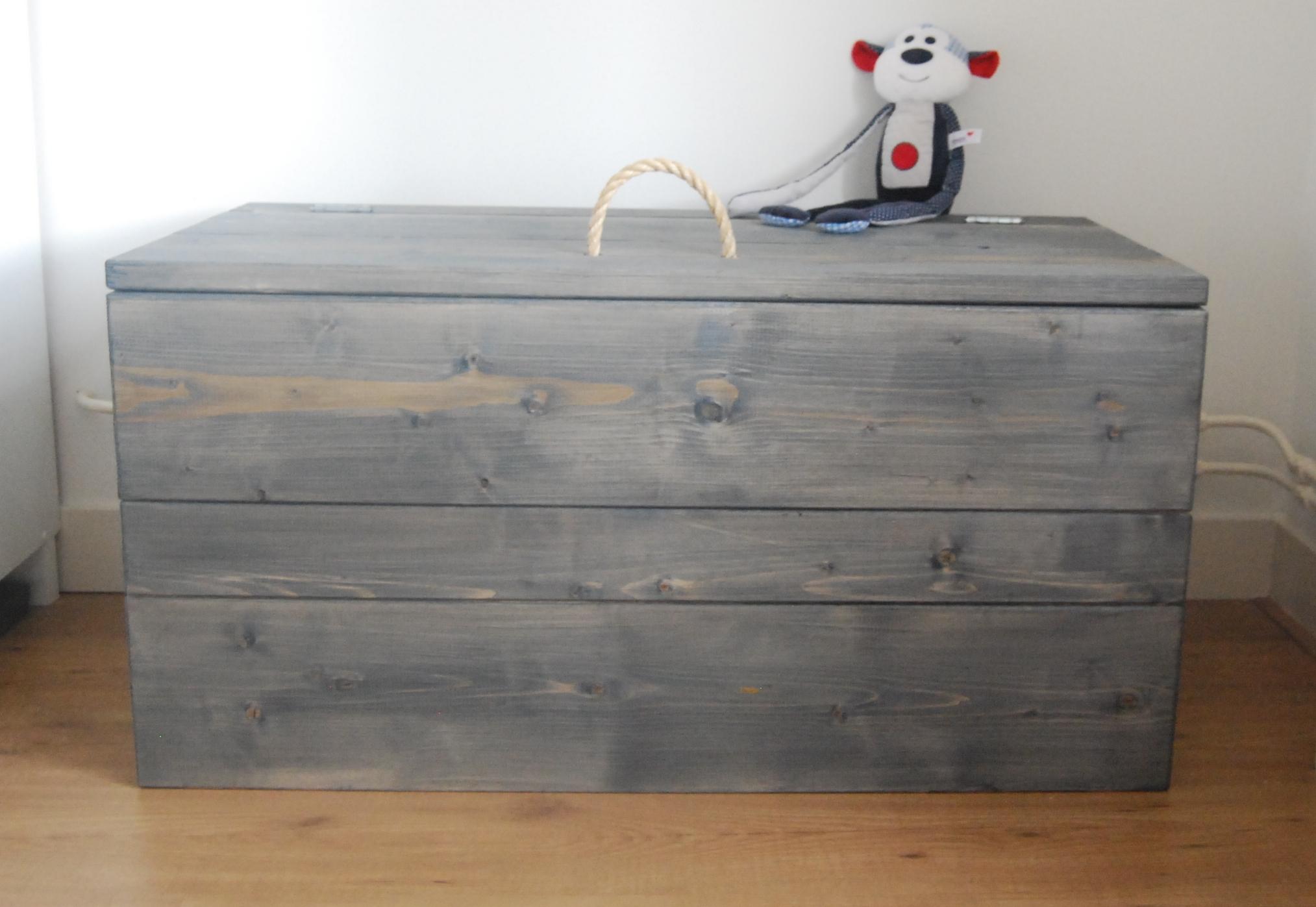 Populair Dekenkisten en speelgoedkisten van steigerhout SW65