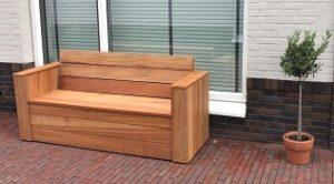 niove loungebank steigerhout